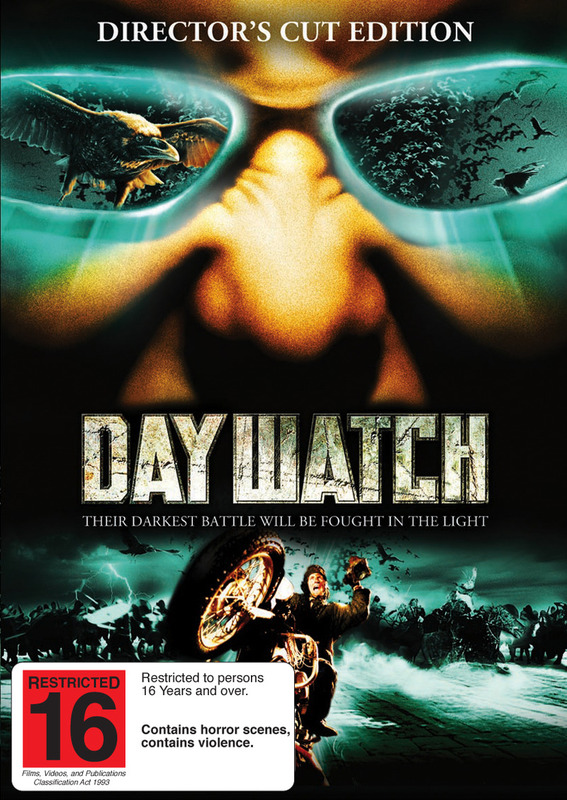 Day Watch Director's Cut on DVD