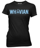 Doctor Who Whovian with Dalek Women's Junior T-Shirt (Large)