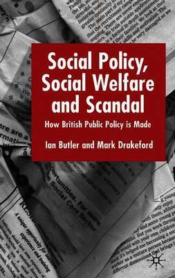 Social Policy, Social Welfare and Scandal by I. Butler image