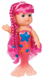 Toysmith: Bathtime Mermaid Doll - Pink