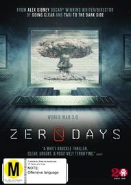 Zero Days on DVD