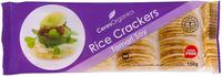 Ceres Organics Tamari Soy Rice Crackers 100g