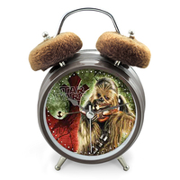 Star Wars Chewbacca Twinbell Alarm Clock