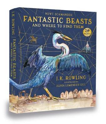 Fantastic Beasts and Where to Find Them Illustrated image