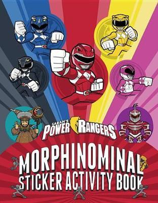 Morphinominal Sticker Activity Book by Gabby Vernon-Melzer