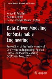 Data-Driven Modeling for Sustainable Engineering