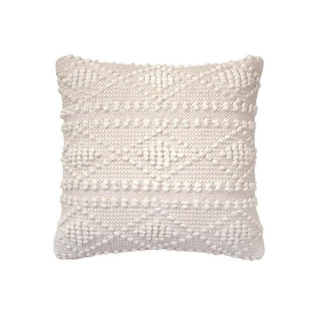 Bambury: Hadley Cushion - Nude (43 x 43cm)