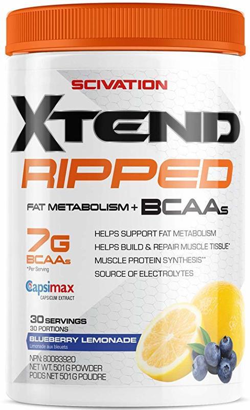 Scivation X-Tend Ripped - Blueberry Lemonade (30 Serves)