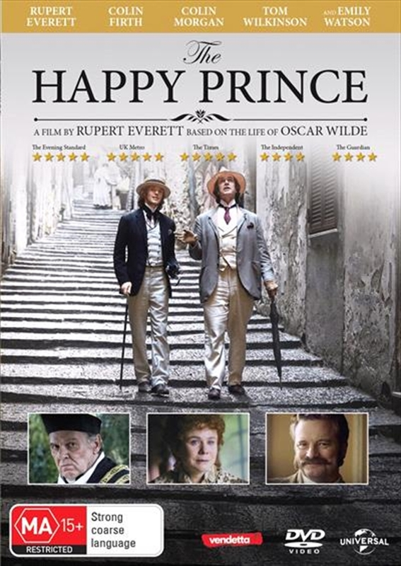 The Happy Prince on DVD
