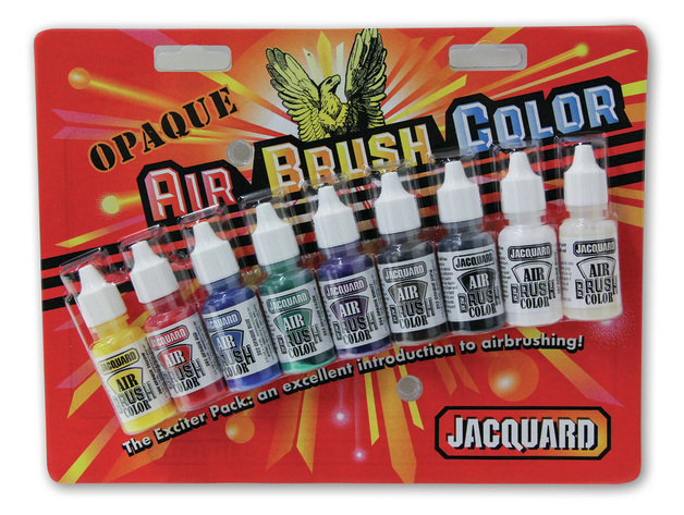 Jacquard: Airbrush Exciter Pack - Opaque (Set of 9)