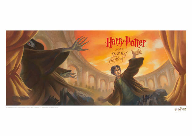 Harry Potter: Deathly Hallows - Book Cover Artwork