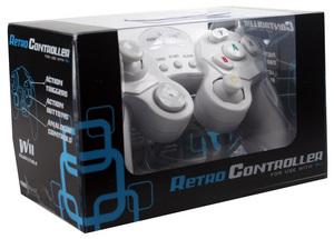 Powerwave Nintendo Wii Retro Controller (White) for Nintendo Wii image