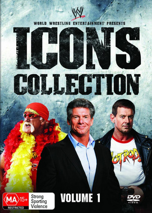 WWE - Icons Collection: Vol. 1 (8 Disc Box Set) on DVD