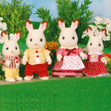 Sylvanian Families: Chocolate Rabbit Family