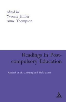 Readings in Post-compulsory Education image