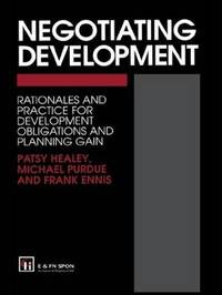 Negotiating Development by Michael Purdue image