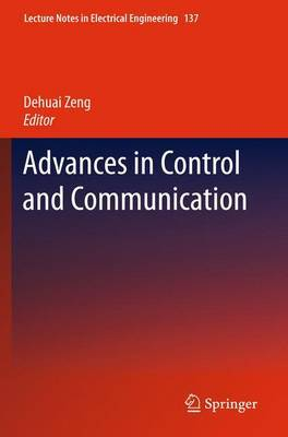 Advances in Control and Communication image