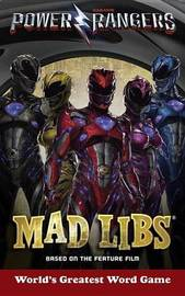 Power Rangers Mad Libs by Gabriel P Cooper image