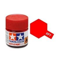 Tamiya Acrylic: Flat Red (XF7)