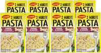 Maggi 3 Minute Pasta - Cheese & Bacon (8 Packs x 70g)