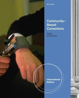 Community-Based Corrections, International Edition by Paul F. Cromwell image