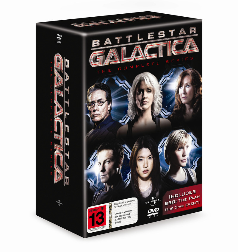 Battlestar Galactica Complete Collection on DVD image