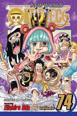 One Piece, Vol. 74 by Eiichiro Oda