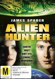 Alien Hunter on DVD image