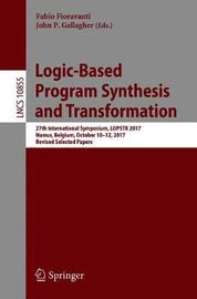 Logic-Based Program Synthesis and Transformation image