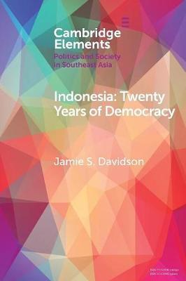 Elements in Politics and Society in Southeast Asia by Jamie S. Davidson image