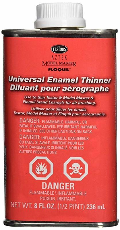 Testors - 234ml Airbrush Enamel Thinner | at Mighty Ape NZ