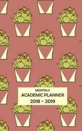 Monthly Academic Planner by Rainbow Notebooks