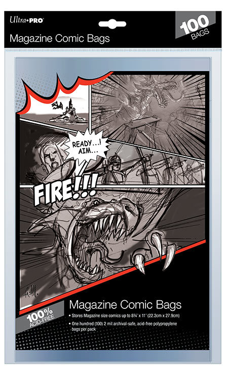 "Ultra Pro: Magazine Comic Bags - (8.75"" x 11"")"