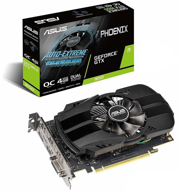 ASUS Phoenix GeForce GTX 1650 OC 4GB GDDR5 GPU