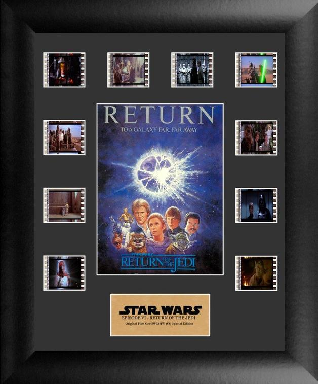 FilmCells: Mini-Montage Frame - Star Wars: Return of the Jedi (S4)