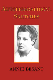 Autobiographical Sketches by Annie Besant image