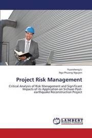 Project Risk Management by Li Yuansheng