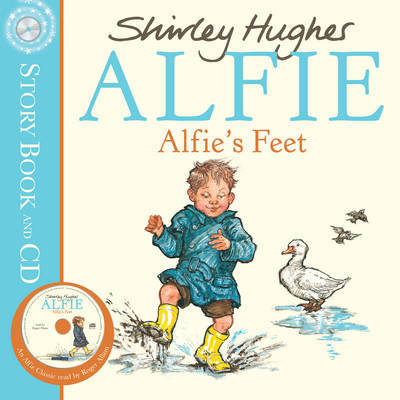 Alfie's Feet (Book + CD) by Shirley Hughes image
