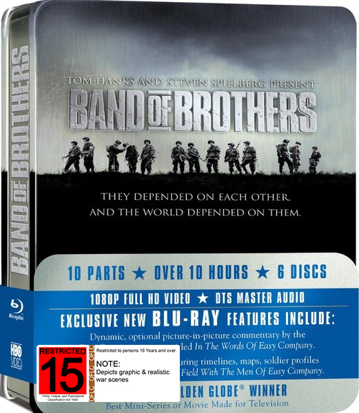 Band Of Brothers: The Complete Series on Blu-ray
