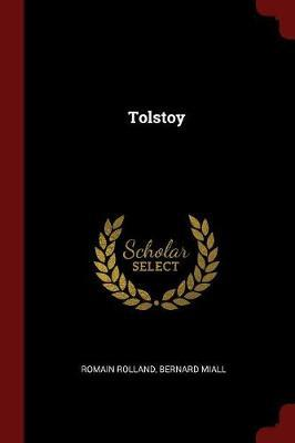 Tolstoy by Romain Rolland image