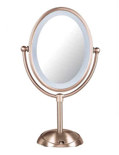 Body Benefits Reflections LED Lighted Mirror - Rose Gold
