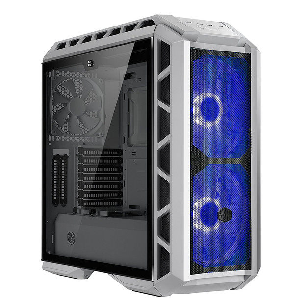 Cooler Master MasterCase H500P Gaming Chassis - Mesh White