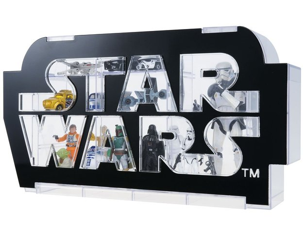 Star Wars Logo Display Case