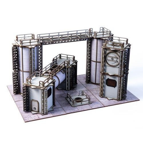 Jesserai Industrial Ward Set with Magnets image