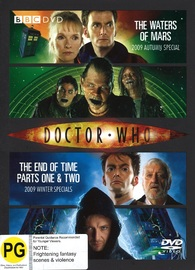 Doctor Who: The Waters of Mars/The End of Time on DVD
