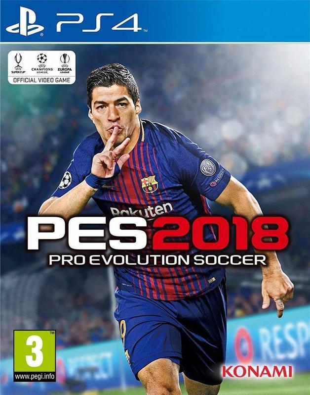 Pro Evolution Soccer 2018 for PS4