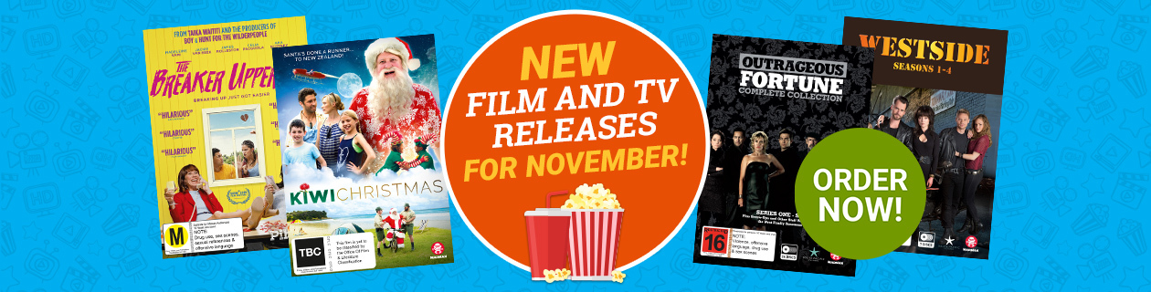 New Film and TV Releases for November!