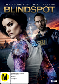 Blindspot: Season 3 on DVD
