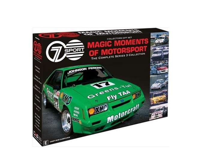 Magic Moments Of Motorsport: Series 3 Collector's Set on DVD image