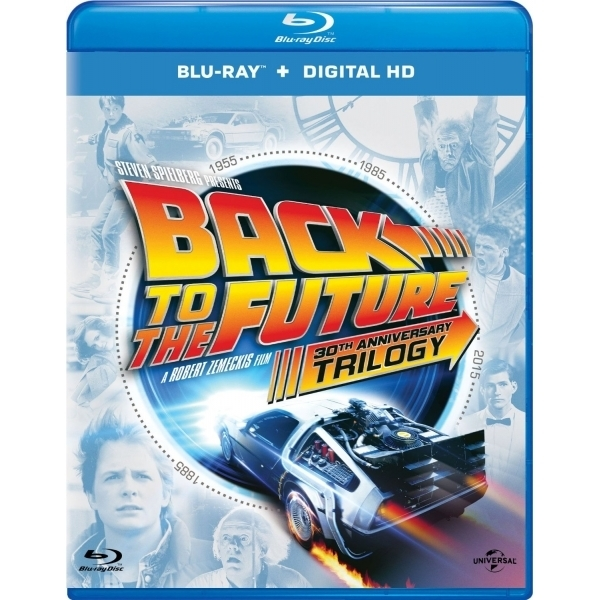 Back to the Future Trilogy (30th Anniversary) on Blu-ray